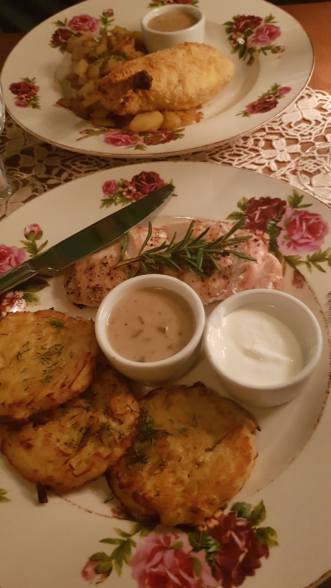 Traditional Russian Birthday Dinner at Katyusha