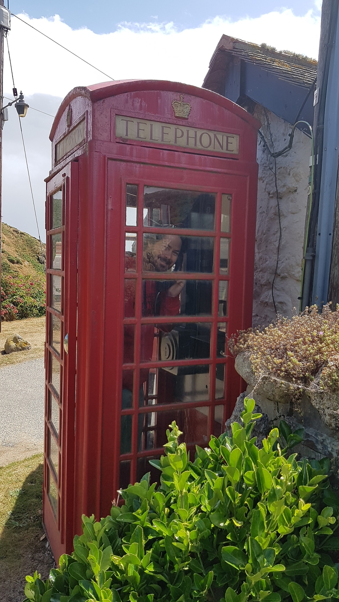 Porthgwarra Phone Booth