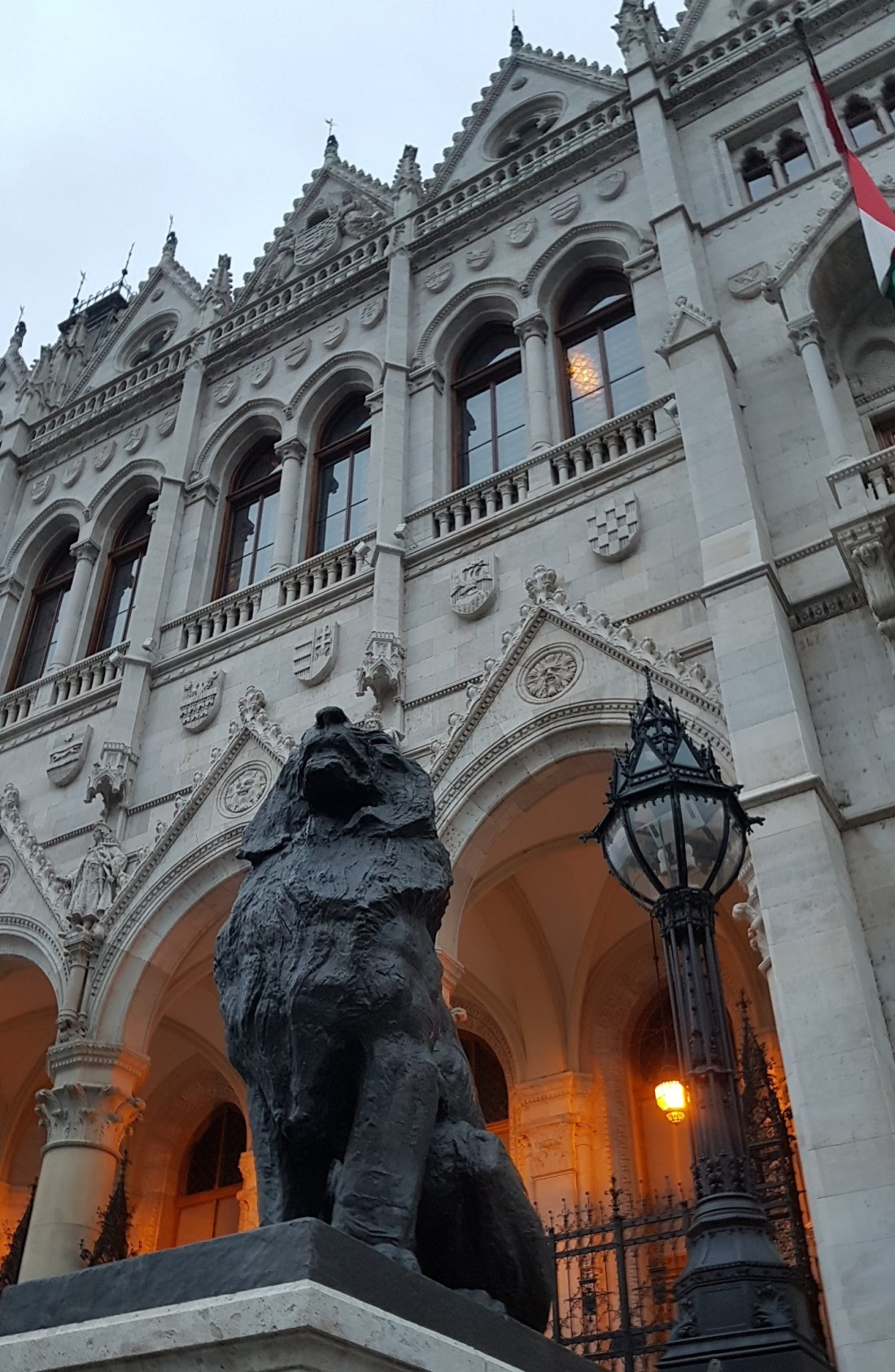Lion Parliament Buda